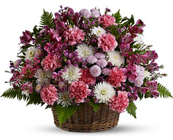 Garden Basket Blooms from Ashland Florist in Lexington, KY