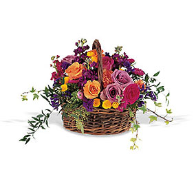 Garden Gathering Basket from Ashland Florist in Lexington, KY