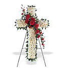 Hope and Honor Cross from Ashland Florist in Lexington, KY