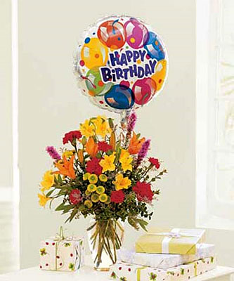 Birthday Balloon Bouquet from Ashland Florist in Lexington, KY